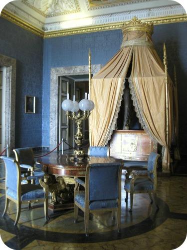 Visita alla reggia di caserta il sito di roberta for Camera da letto del soffitto della cattedrale