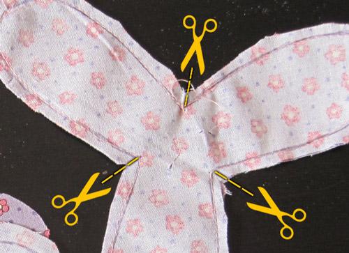Idee Creative Cucito : Cucito creativo tutorial per colorati fiori creati con tessuti