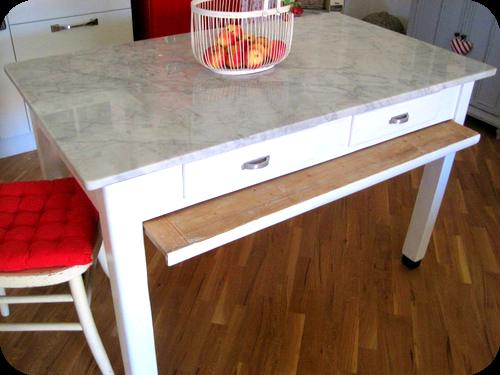 Un tavolo vintage nella cucina country di Roberta. | Il sito di ...