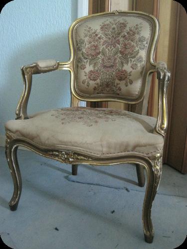 Come restaurare una sedia d 39 epoca luigi xv il sito di - Sedia camera da letto ...