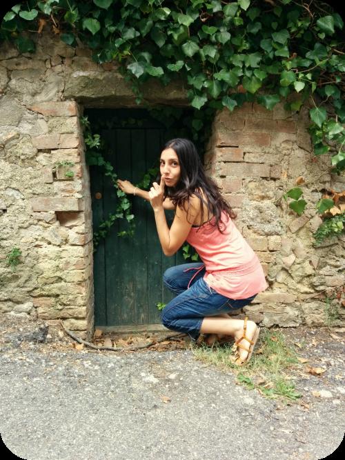 seguendo il Binconiglio a Volterra