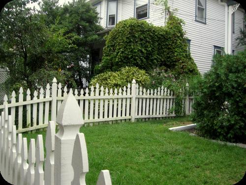 Una settimana negli usa il sito di roberta cucito - Staccionata giardino ...